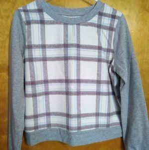 Anthropologie Saturday/Sunday Plaid Sweater